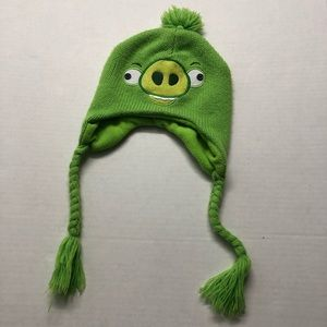 Other - Green Pig angry birds rovio winter hat beanie warm